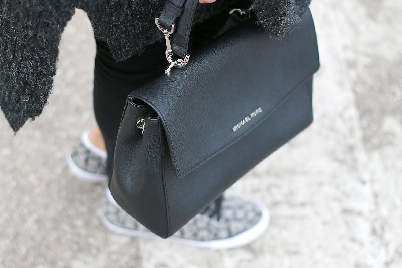 Michael Kors Bag & Calvin Klein Monogrammed sneakers