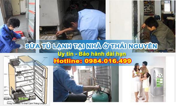 Sửa chữa tủ lạnh tại nhà Thái Nguyên
