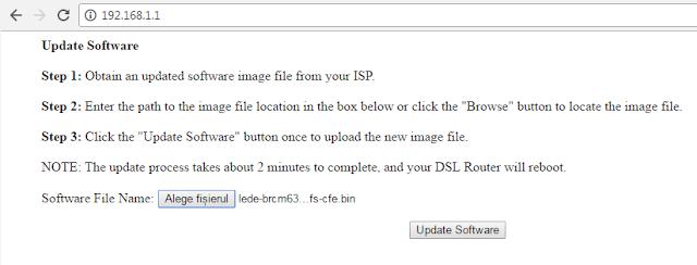 CFE web interface