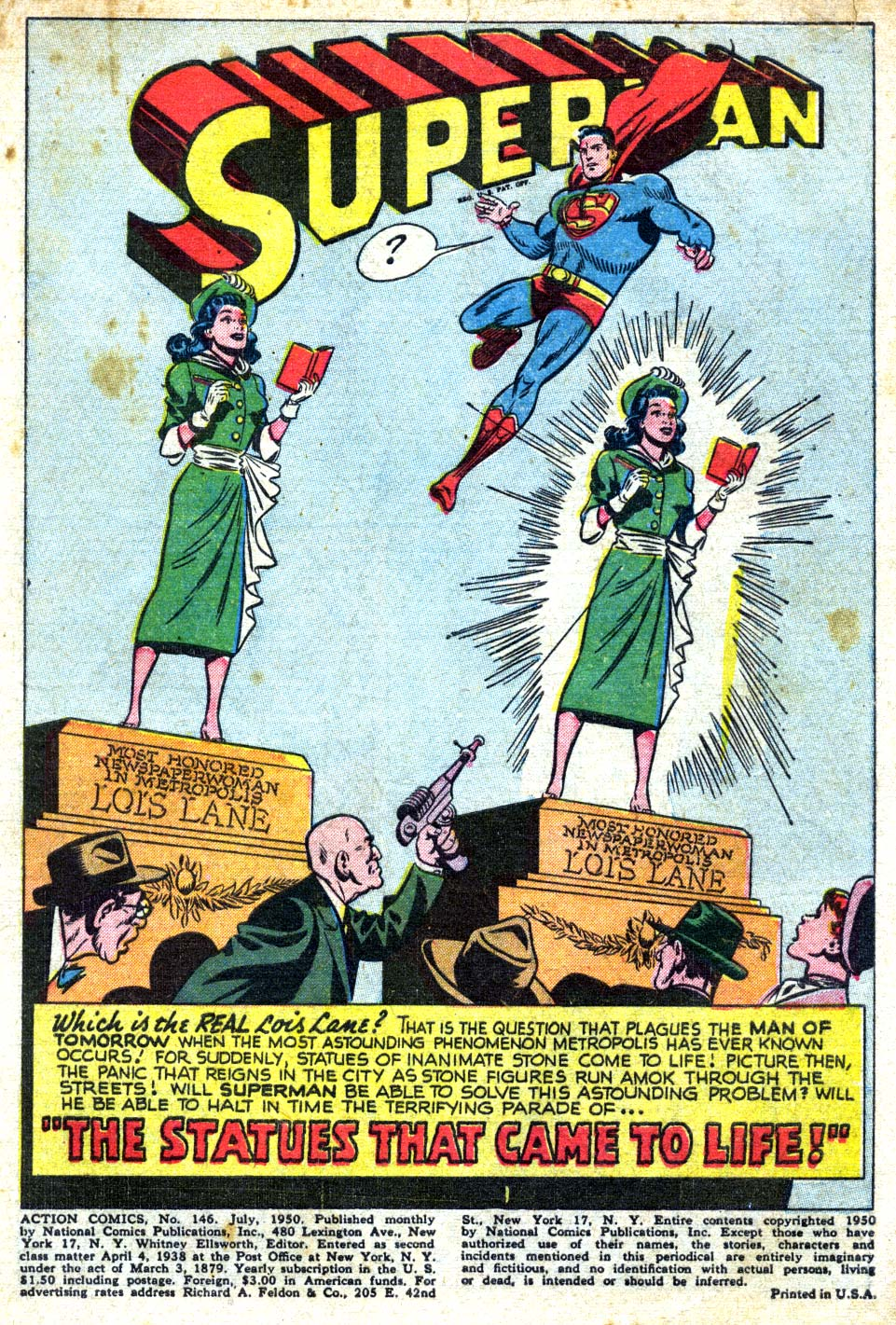 Read online Action Comics (1938) comic -  Issue #146 - 3