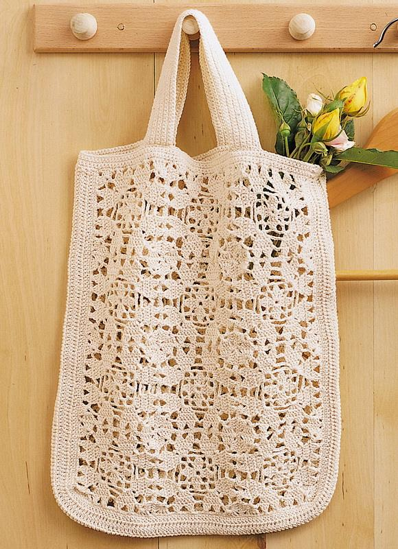 crochet bag trendy for summer Beach market ...