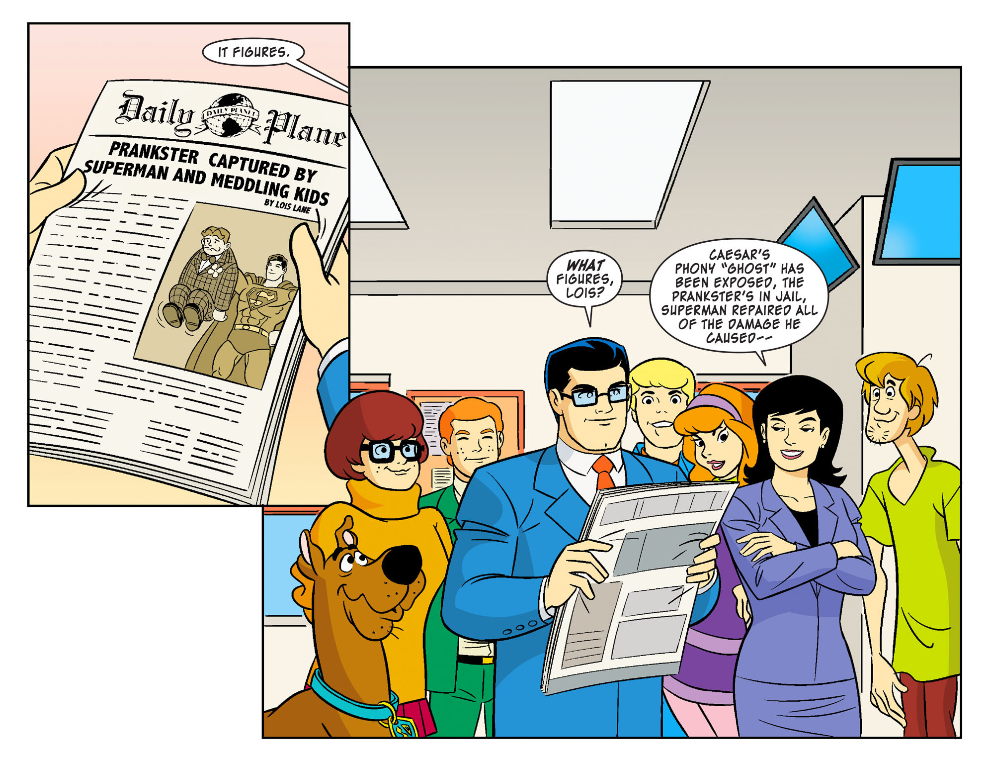 Read online Scooby-Doo! Team-Up comic -  Issue #18 - 21