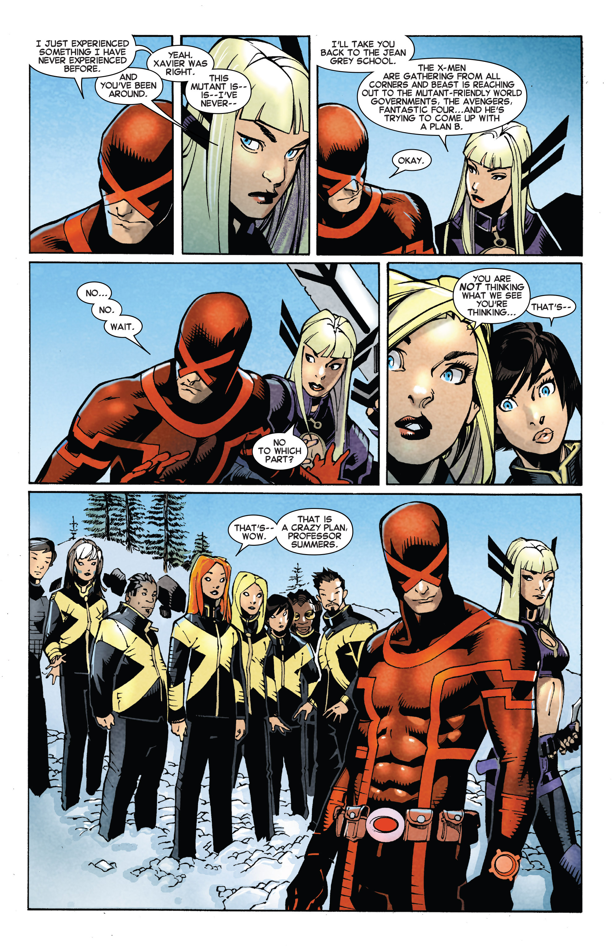 Read online Uncanny X-Men (2013) comic -  Issue # _TPB 5 - The Omega Mutant - 36