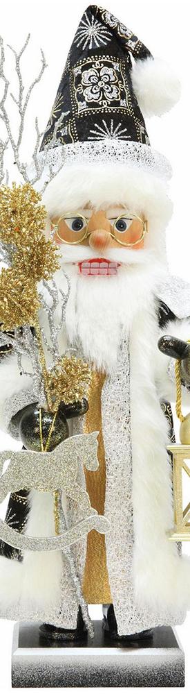 Frontgate Glimmer Santa Nutcracker