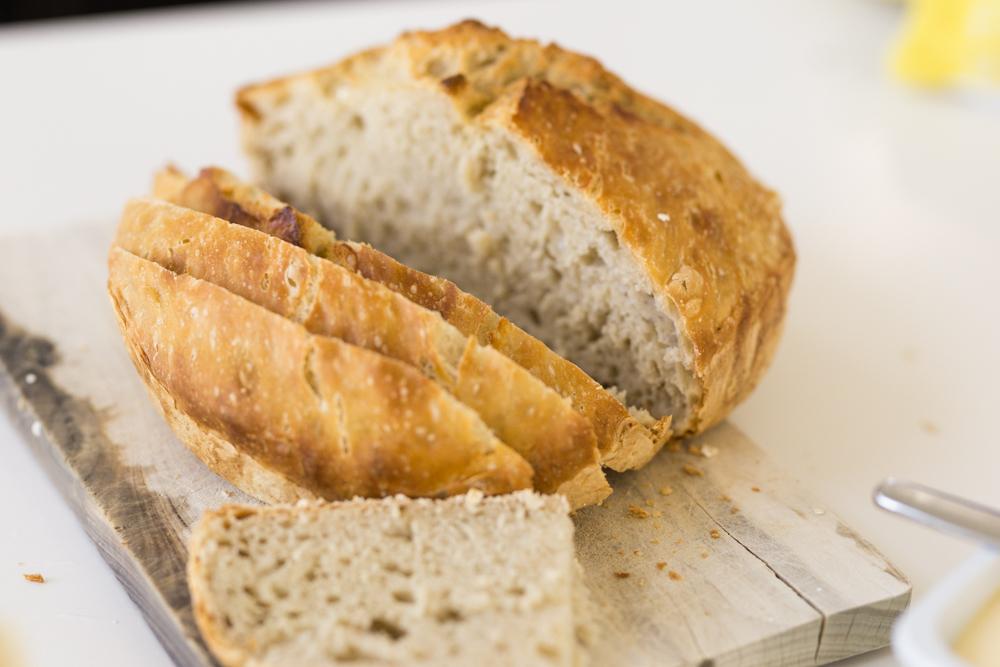 Pataleipä helppo leipä, vaivaamaton leipä