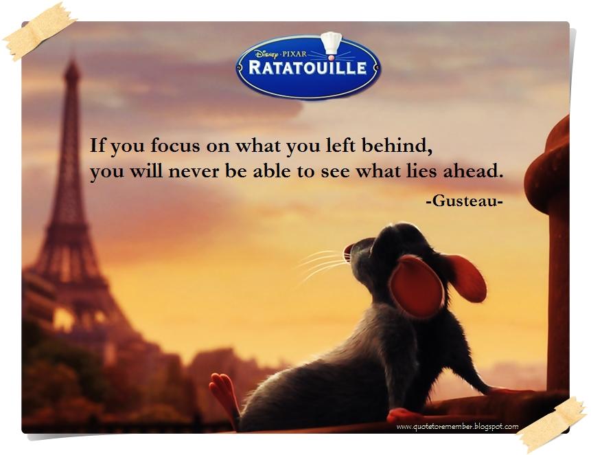 Ratatouille Quotes Quote to Remember: RATATOUILLE [2007] Ratatouille Quotes