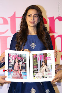 Bollywood Actress Juhi Chawla Launchs Better Homes 10th Anniversary Celetion Cover  0008.JPG