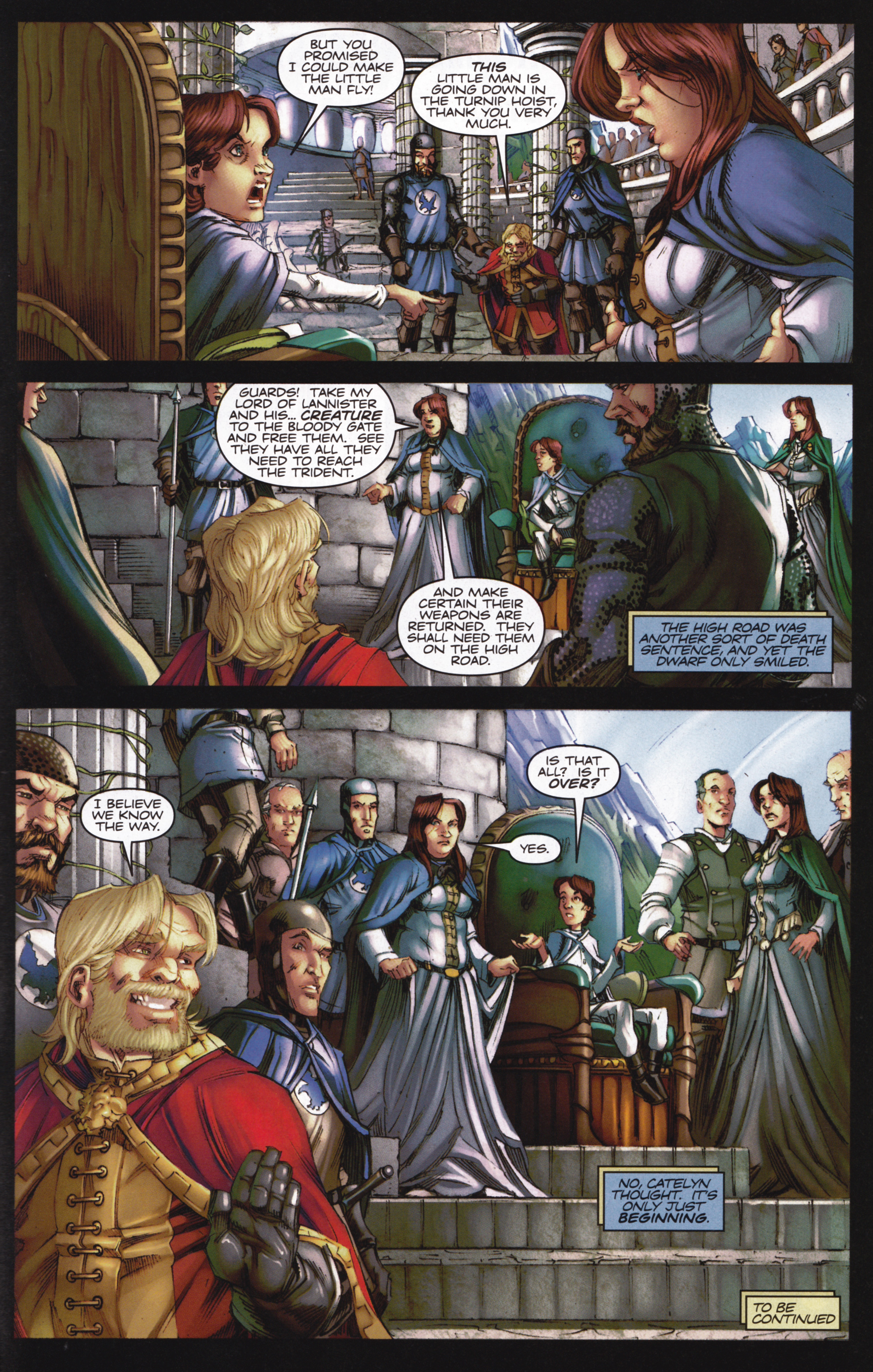 Read online A Game Of Thrones comic -  Issue #13 - 31