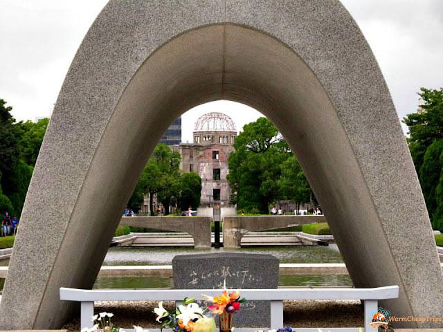 Hiroshima, peace memorial park hiroshima, parco della pace, adome, giappone, bomba atomica