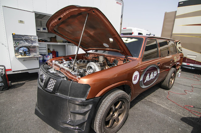 World's fastest SUV 333.82km/h @ 1/2 Mile TB48 Nissan Patrol