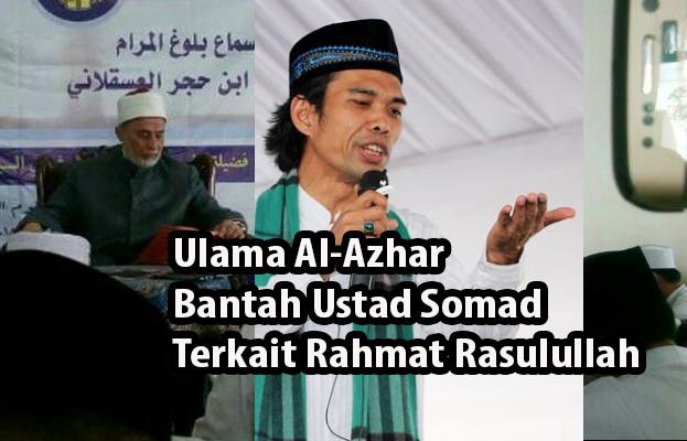 Bantah Ustad Somad, Ulama al-Azhar: Rahmat Rasulullah Telah Ada Sebelum Alam Raya Diciptakan