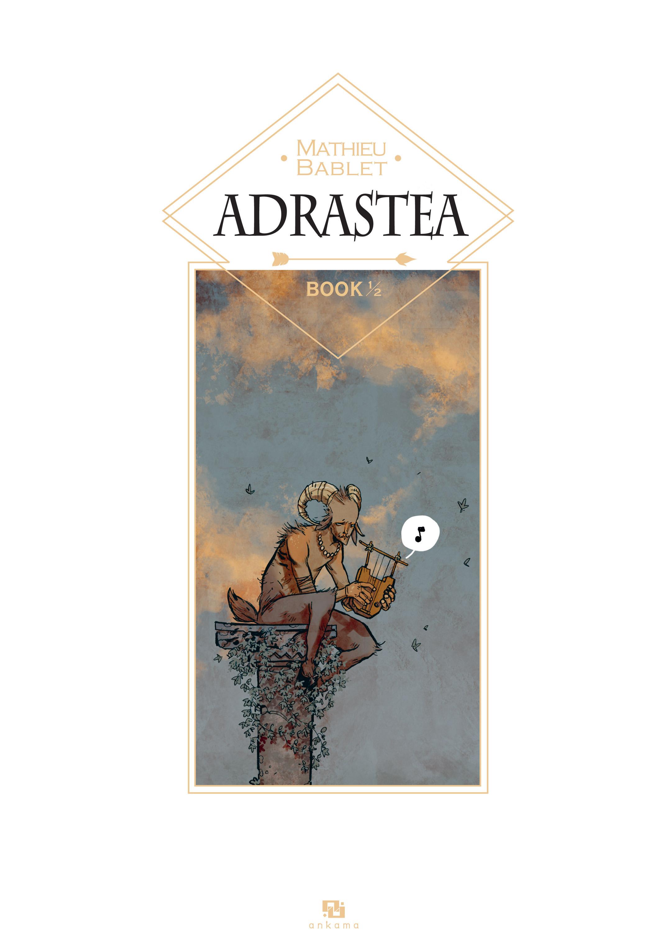 Read online Adrastée comic -  Issue #1 - 3