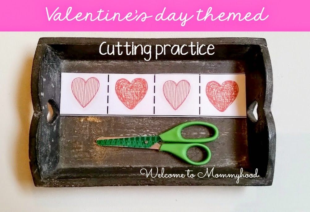 Valentine's Day Activities for Kids {Welcome to Mommyhood} #Valentine'sDayActivitiesForKids, #montessori, #toddleractivities