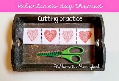 Valentine's Day Activities for Kids {Welcome to Mommyhood} #Valentine'sDayActivitiesForKids, #montessori, #toddleractivities