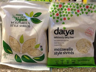 A Soy Bean Showdown Trader Joe S Vegan Mozzarella Vs