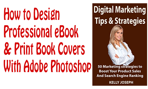 How to design book covers with Adobe Photoshop