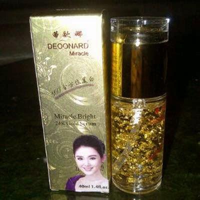 Miracle Serum Perawatan Wajah Deoonard Gold 24K Original