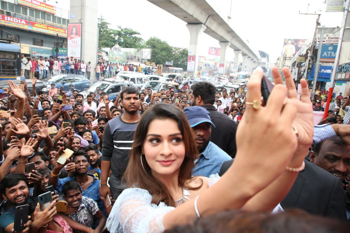Indian Model Payal Rajput Launches Touch Mobiles Store