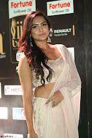 Prajna Actress in backless Cream Choli and transparent saree at IIFA Utsavam Awards 2017 0053.JPG