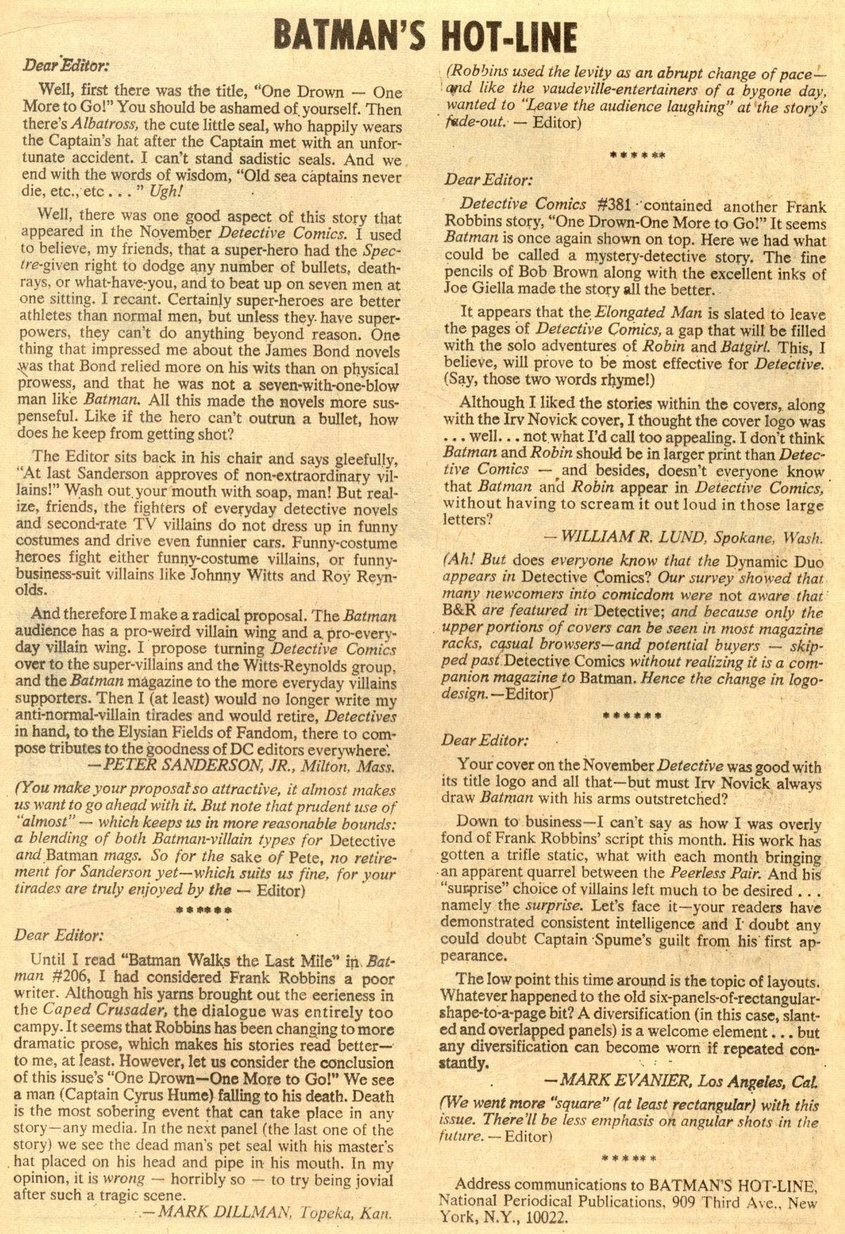 Detective Comics (1937) 385 Page 19
