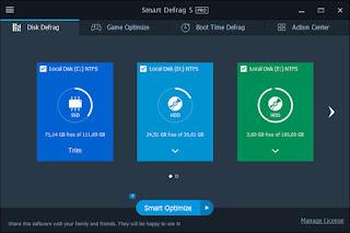IObit Smart Defrag Pro 5.3.0.976 Multilingual Full Keygen
