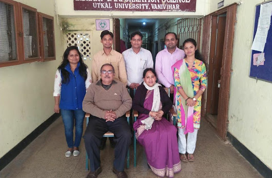 Pre-Ph.D Scholars-2017-18, with the Professors of Dept. of Lib. & Inf. Sc., Utkal University
