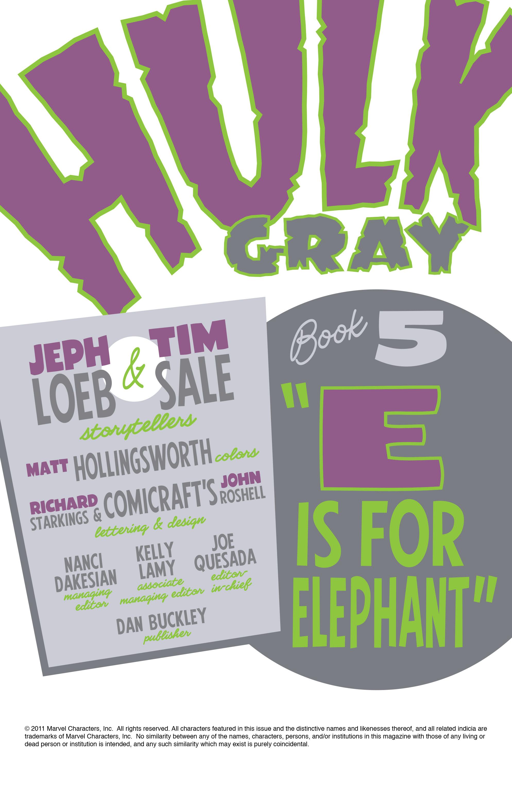 Read online Hulk: Gray comic -  Issue #5 - 2