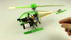 Creative Way To Make A Helicopter Toy