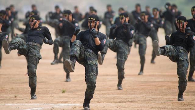 """China envía a Siria sus fuerzas especiales """"Tigres Nocturnos"""""""