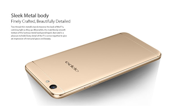 Image of Oppo F1s phone