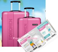 Logo Con Zuccari vinci 140 set di valige Fordren e 5 viaggi ai Caraibi