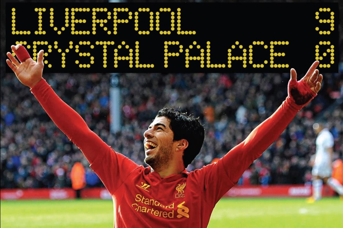 liverpool 9 crystal palace 0