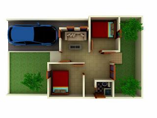 Desain Interior Rumah Minimalis Tipe 36 9
