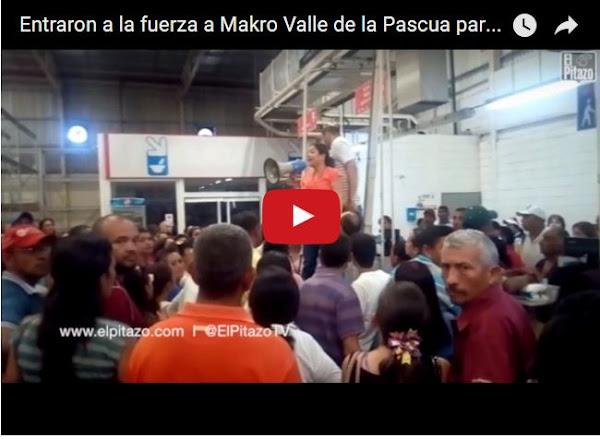 Condicionan venta de productos en Makro - Valle de la Pascua