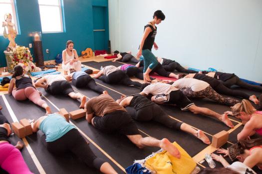 jivamukti yoga posses asanas