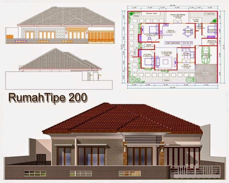 Image Number 71 Of Desain Rumah T\\\\u0026ak Depan S\\\\u0026ing . & Jasa Desain Rumah Tampak Depan \u0026 Jasa Desain Rumah Gambar Satuan 3D ...