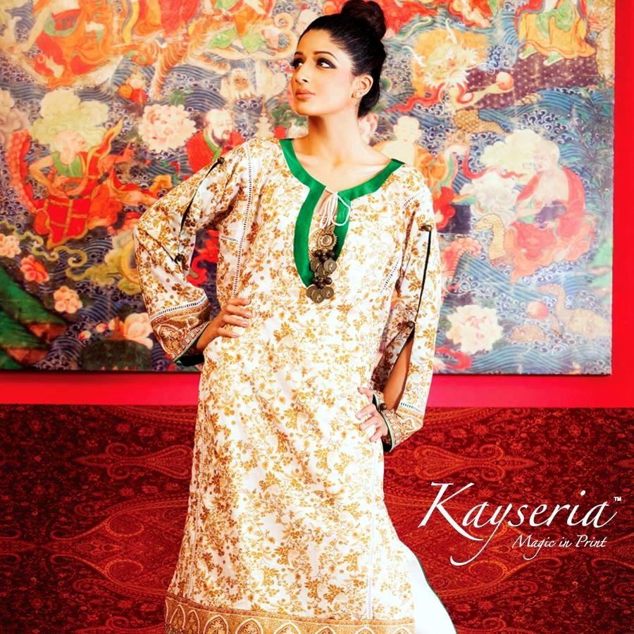 Kayseria Latest Eid Collection 2013-2014 | Rang-e-Maharani ...