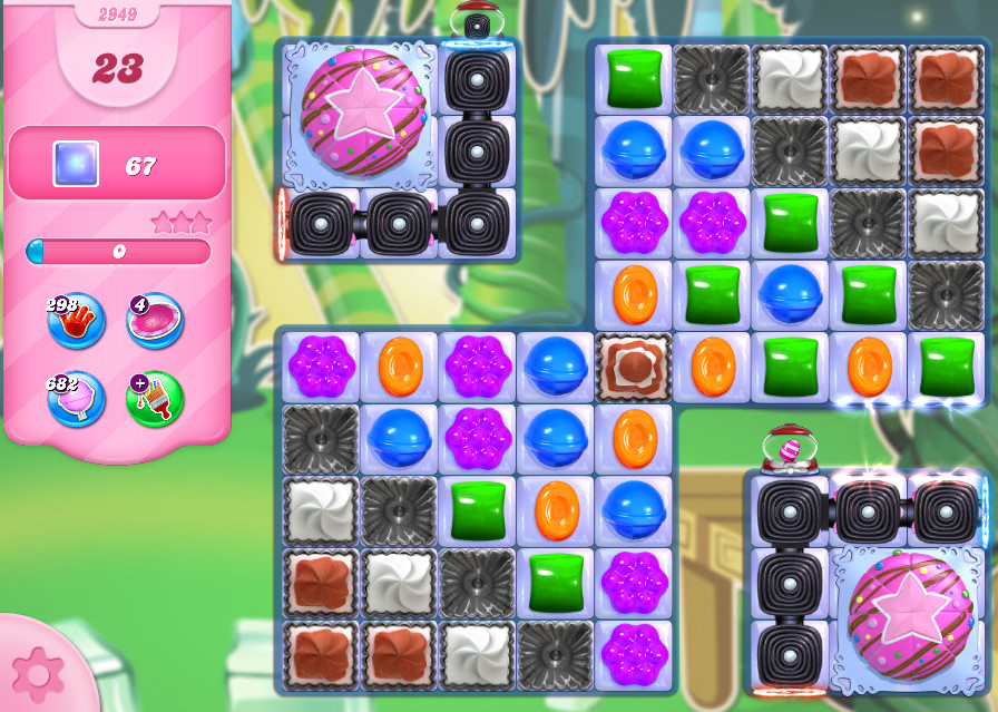 Candy Crush Saga level 2949