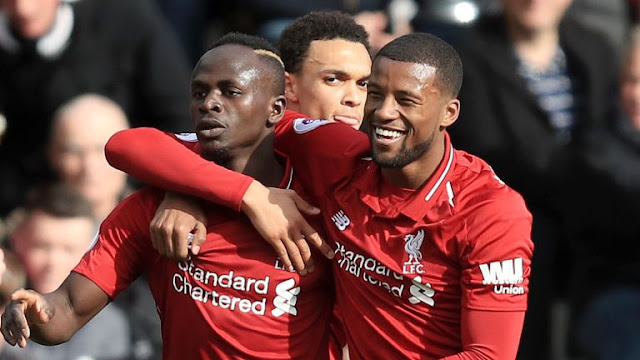 Liverpool FC Sadio Mane And Wijnaldum