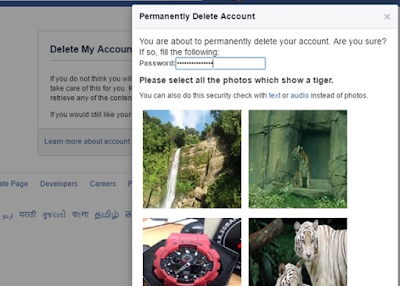PERMANENTLY DELETE MY FACEBOOK ACCOUNT