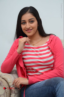 Telugu Actress Mouryani Latest Pos in Blue Denim Jeans  0139.JPG