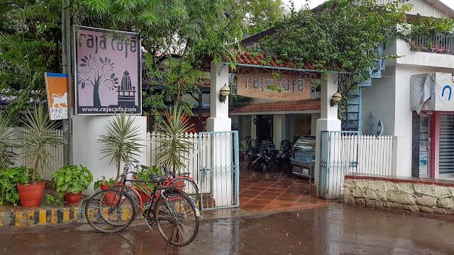Raja Cafe Khajuraho Madhya Pradesh India