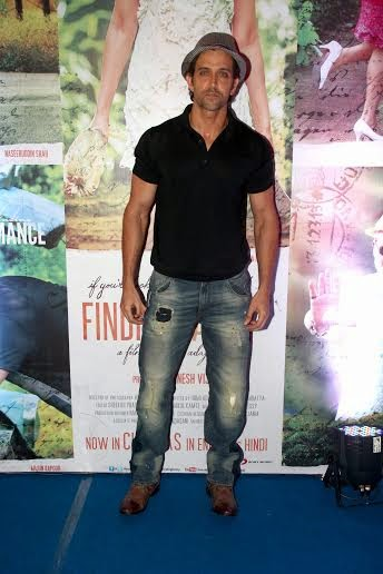 Hrithik Roshan during the Success party of Finding Fanny