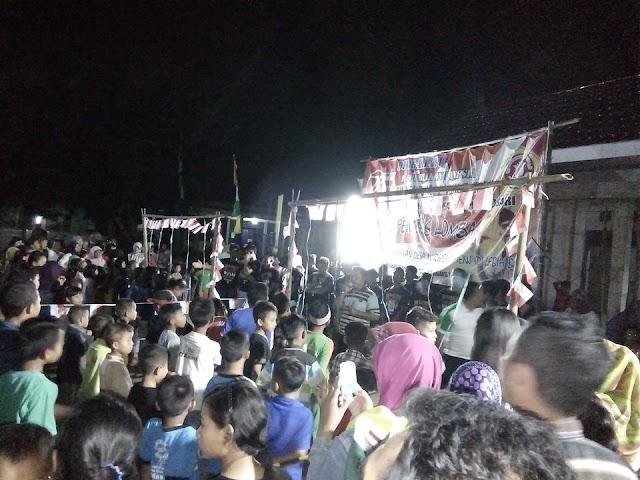 Penonton Bludak..... Saksikan Lomba Kartar Garuda Muda Desa Ngrejeng
