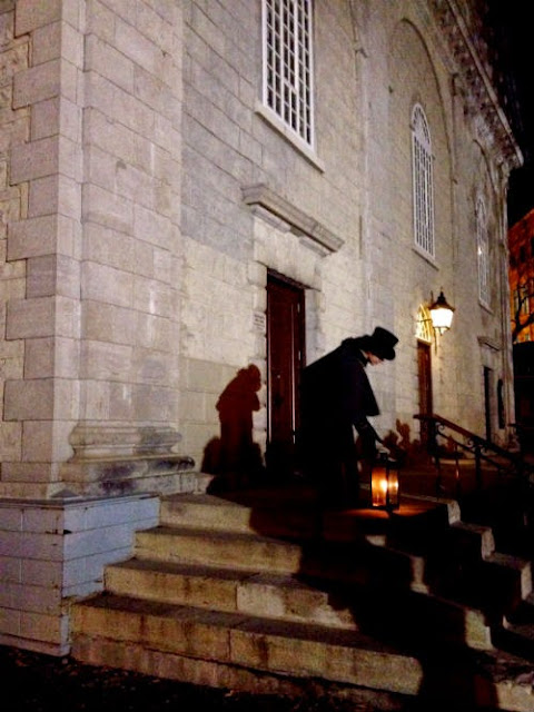 Ghost Tour in Old Quebec