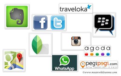 Pilihan Aplikasi Smartphone buat Travel Mania
