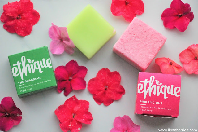 Ethique Pinkalicious shampoo bar review
