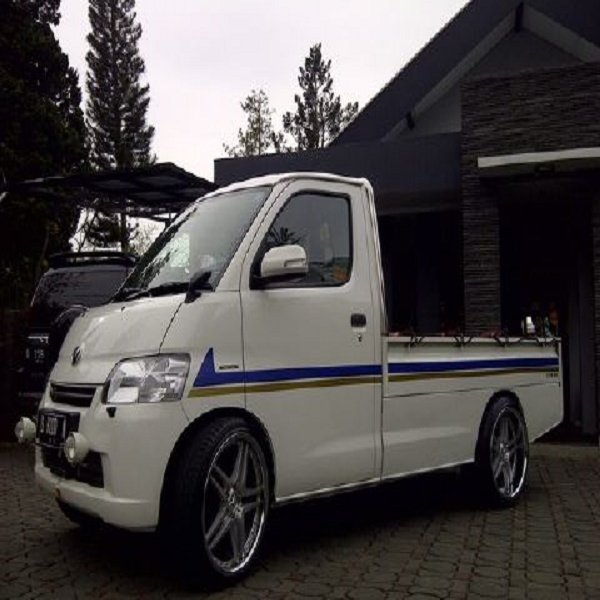 Foto modifikasi mobil pick up ceper mega carry 1 5 grand