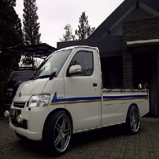 Foto modifikasi mobil pick up ceper mega carry 1 5 grand
