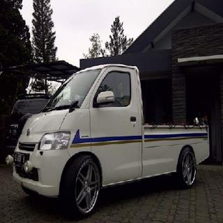 Foto Modifikasi Mobil Pick Up Ceper Mega Carry 1 5 Grand Max Futura Mitsubishi L300 T120ss